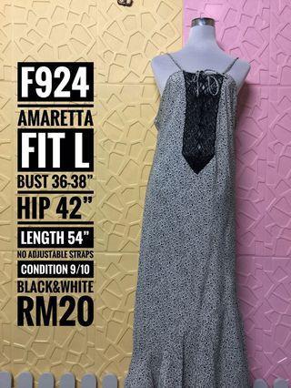 Amaretta Long Dress Nighties