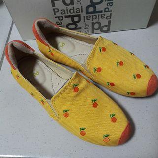 專櫃paidal休閒鞋5號/22號