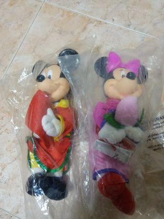 Plushies and figurines $8 each