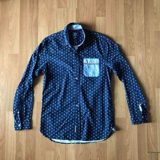 Smart casual long sleeve button shirt from brands outlet