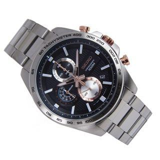 5折出售 深水步有門市全新1年保養有單正版正貨 SEIKO 精工錶 SSB281P1