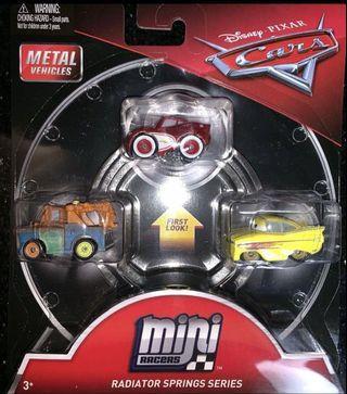 Disney pixar mini racer pack - mcqueen