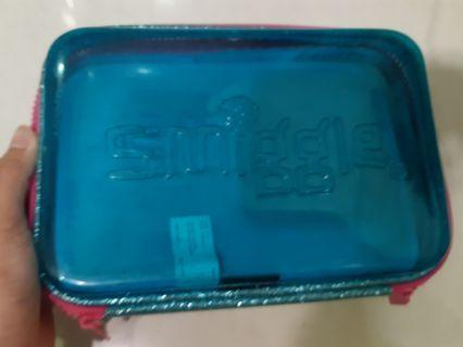 Smiggle Pencil Case clear