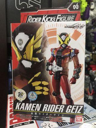 Rider Kick's Figure Kamen Rider Geiz