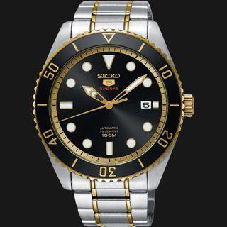 5折出售 深水步有門市全新1年保養有單正版正貨 SEIKO 精工錶 SRPB94K1