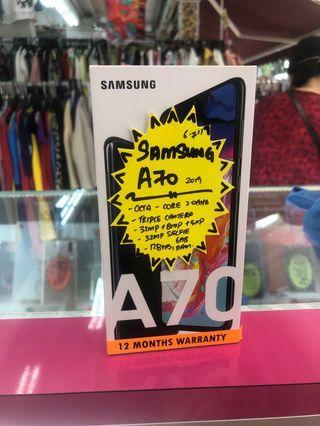 Samsung A70 128GB 6GBram local