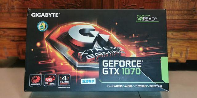 Gigabyte Geforce GTX 1070 8GB XTREME GAMING