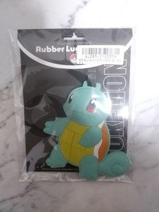 <BNIP> Authentic Squirtle Luggage Tag