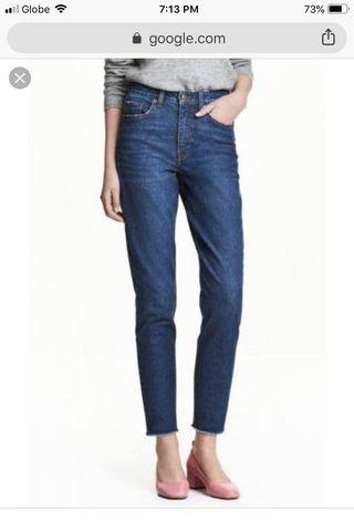 NEW H&M Slim Fit Mom Jeans
