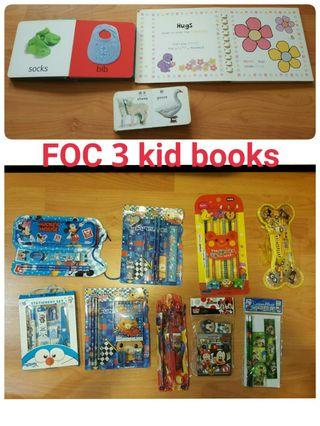 9 sets of NEW kids stationary party bag (selling in bundle) Price for all