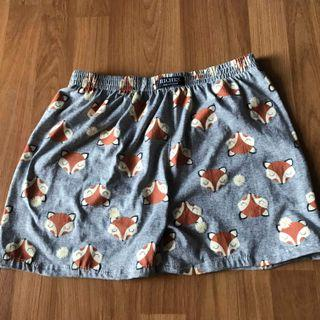 Brand new Men's boxer underwear fox design