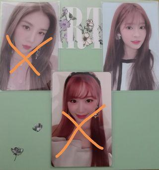 [WTT/WTS]IZ*ONE Heart*IZ photocards