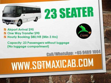 23 Seater for Hire
