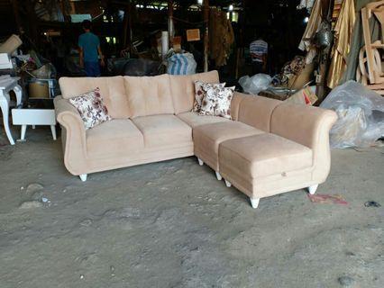 Sofa L Covina + Meja
