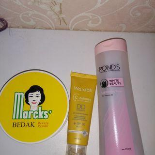 Micellar Water + Bedak + DD Cream Wardah