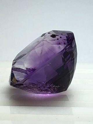 Father's Day Special - Natural Amethyst Gemstone (Oval Cut - 31.94ct)