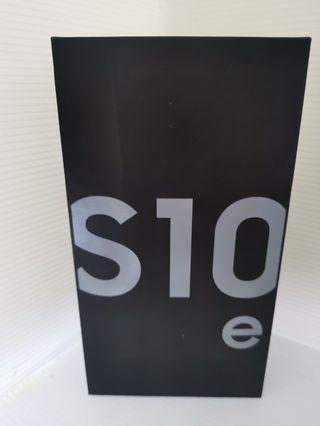 Samsung s10 e prism white (New)