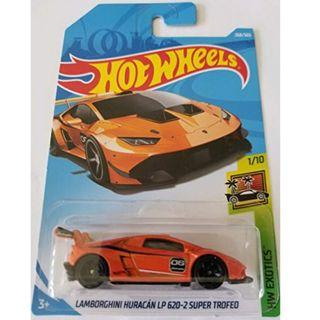 Hotwheels 2018 HW Exotics Lamborghini Huracan LP 620-2 Super Trofeo Rare Hot Wheels