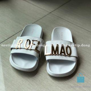 Vincci VNC Sandal Slipper Slice Rofl Lmao White 38