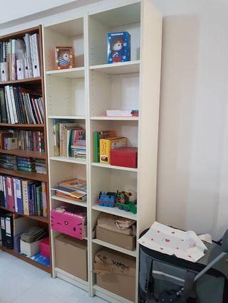 🚚 2x Billy Bookshelf