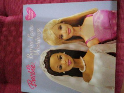 Barbie loves weddings