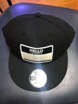 New era black cap