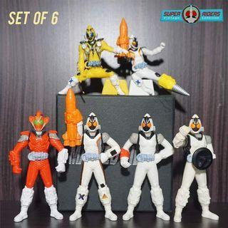 Kamen Rider Fourze (set of 6)
