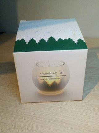 FREE: Muji forest tealight candle holder