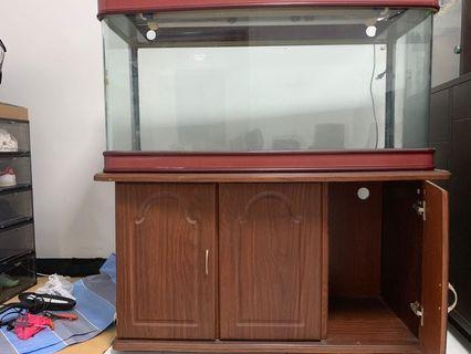 Antique fish tank
