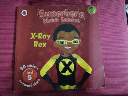Superhero phonic readers x-ray rex level 5