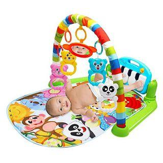 Baby fitness frame toys with music