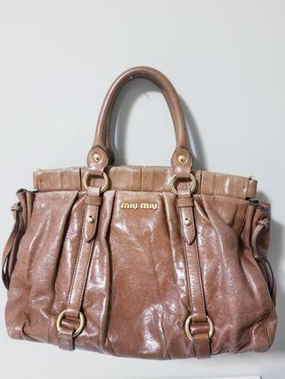 Authentic Miu Miu two way handbag