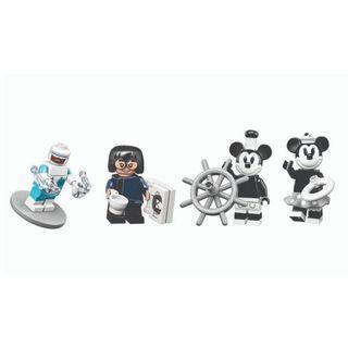 LEGO Disney Minifigures 71024- Mickey Minnie Frozone Edna