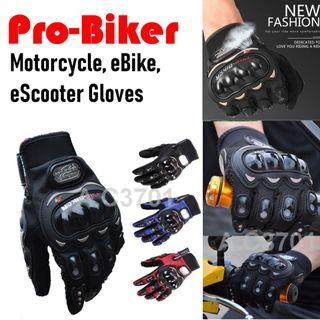 Gloves for Motorcycle eBike eScooter Motorbike Scooter