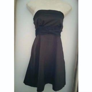 BN Dark Brown Ribbon Dress