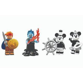 LEGO Disney Minifigures 71024- Mickey Minnie Hercules Hades