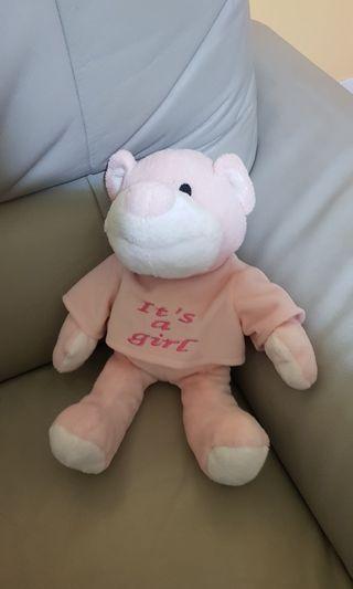 🚚 Pink bear