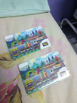 Touch n go card with value Rm200