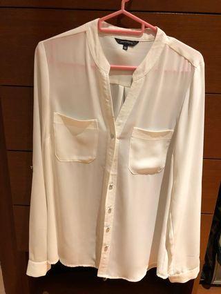 Portman's white blouse UK10