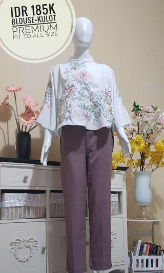 1 set bordir blouse