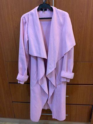 Missguided (UK Brand) Pastel Coat