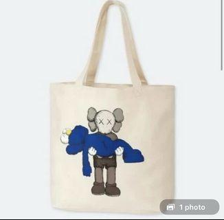 Kaws X tote Bag
