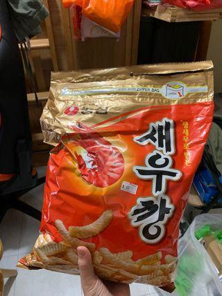 韓國蝦條 400g 零食