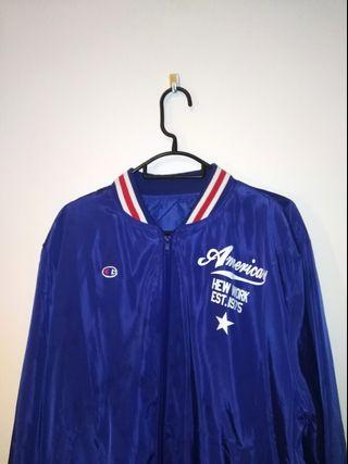 Champion blue bomber jacket