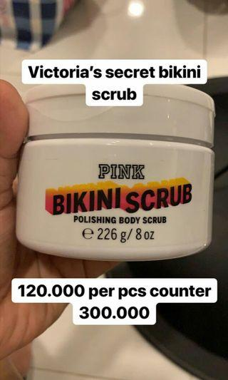 Scrub Victoria's Secret
