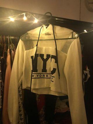Top crop hoodie