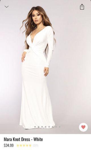 Mara knot dress