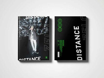 [PREORDER] ZELO 1ST MINI ALBUM DISTANCE (NORMAL & SPECIAL VERSION) WITH POSTER