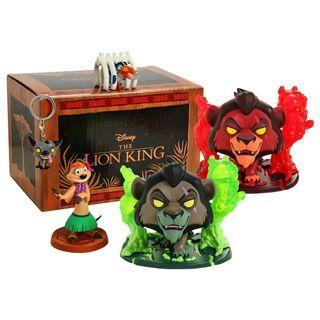 Funko Pop - The Lion King - Scar with Flames Exclusive Collector Box