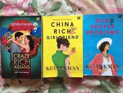 Novel cracy rich asian, rich people problem, china rich girfriend